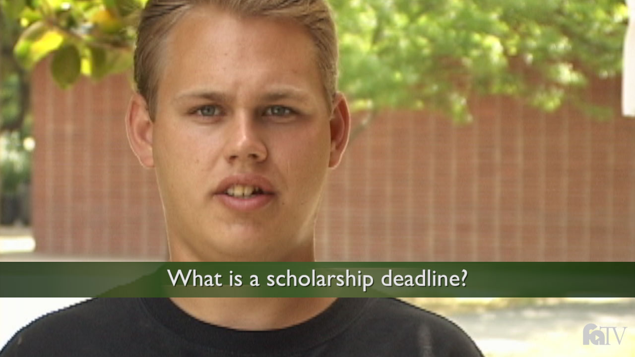 Scholarship Information  Financial Aid