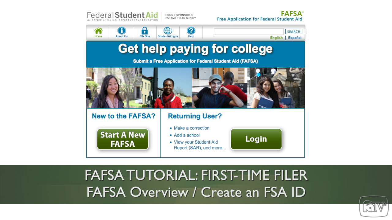 File your FAFSA Online