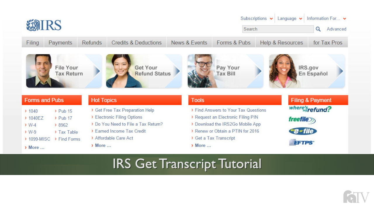 How to request an irs tax return transcript student financial aid how to request an irs tax return transcript student financial aid and scholarships falaconquin